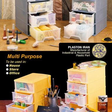 کاربرد های قفسه پلاستیکی ابزار