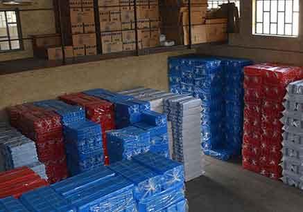 کاربرد جعبه پلاستیکی در قفسه بندی انبار ها